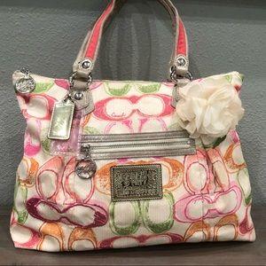 Authentic Signature Coach Poppy Handbag